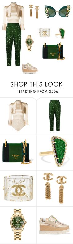 """""""Casual Slay"""" by ms-t-m-h ❤ liked on Polyvore featuring Nina Ricci, 3.1 Phillip Lim, Prada, Kimberly McDonald, Chanel, Rolex, STELLA McCARTNEY and Dolce&Gabbana"""