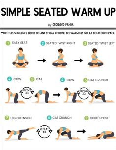 Jul 2019 - Yoga stretches your entire body while also giving you a great workout, so do you need to warm up before you practice it? Here's what we think. Warm Ups Before Workout, Stretches Before Workout, Morning Yoga Stretches, Warm Up Stretches, Workout Warm Up, Stomach Stretches, Sanftes Yoga, Yoga Ashtanga, Vinyasa Yoga