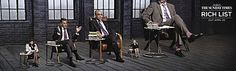The Sunday Times Rich List Campaign - Dragons Den