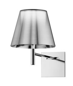 FLOS KTribe W Aluminized Silver Wall Light