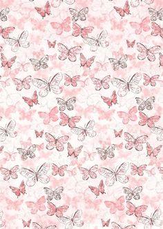 Butterflies on Pink