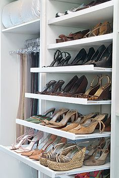 YES!!!! Pullout shelving for shoes