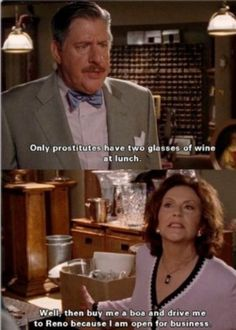 It's moments like these that make me love Gilmore Girls all the more