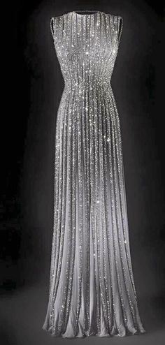 Silver gown
