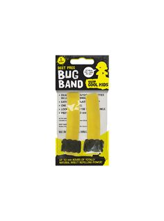 Deet Free Bug Bands £3.49 Deet Free Bug Bads - 2 Pack Ideal for all outdoor activities (including swimming) Easy to use adjustable clasp One size fits all Looks cool on the wrist or ankle Protects for up to 100 hours