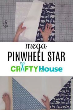 She sews in one long line and when she's done this project is gorgeous!