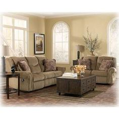 Ashley 2-Piece Reclining Living Room Set
