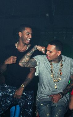 Trey Songz and Chris Brown