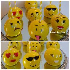 Emoji Candy Apples
