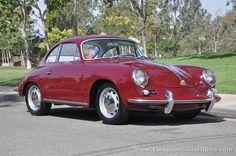 1964 Porsche 356 C Coupe #classic #porsche