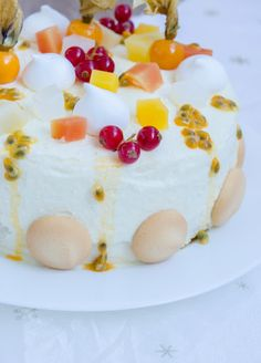 Tort diplomat cu fructe tropicale - Din secretele bucătăriei chinezești Cheesecake, Rolls, Tropical, Pudding, Sweets, Desserts, Food, Sweet Pastries, Tailgate Desserts
