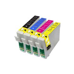 4 Epson 18 XL Series Compatible Ink Cartridges. Full set of T1816, including 1x Black, 1x Cyan, 1x Magenta and 1x Yellow T1811 T1812 T1813 T1814 - 4 Epson Daisy 18 XL Series Compatible Ink Cartridges for Epson Expression Home XP-30 XP-102 XP-202 XP-205 XP-302 XP-305 XP-402 XP-405 Printers, Full set of T1816, including 1x T1811 Black, 1x T1812 Cyan, 1x T1813 Magenta and 1x T1814 Yellow  - http://ink-cartridges-ireland.com/4-epson-18-xl-series-compatible-ink-cartridges-full-set