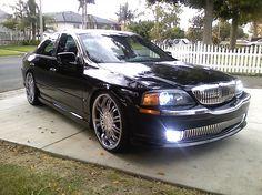 2004 4door Lincoln LS Sedan pearl white custom paint job w custom
