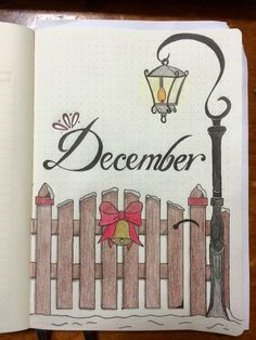 35 Christmas and December Bujo Ideas - - Bullet Journal - December Bullet Journal, Bullet Journal Notebook, Bullet Journal School, Bullet Journal Ideas Pages, Bullet Journal Inspiration, Book Journal, Bullet Journal Christmas, Journal Covers, Art Journals