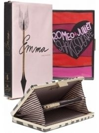 Kate Spade Book Clutches *This gives me the idea to make some book covers out of paper!*