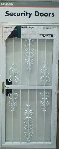 Security Screen Doors For Double Entry Patio Door