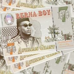 Burna Boy's ''African Giant'' is on UK Apple Music Albums Chart Surpassing Beyonce Chris Brown NF Ariana Grade Albums Damian Marley, Mark Ronson, Chance The Rapper, The Black Keys, Sabrina Carpenter, Bruce Springsteen, Hit Songs, News Songs, Chris Brown