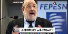 ES OFICIAL Cristina Kirchner QUEDARA inhabilitada de por vida