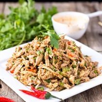 ... Sichuan style spicy chicken salad will become one of your favorites