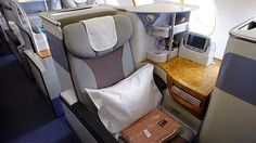 Business class on Emirates. Only if the airline could get your bedroom into the air would you be more comfortable. Wishful thinking!