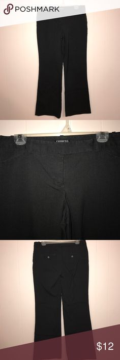 Express low-rise dress pants Dark gray editor style Express Pants