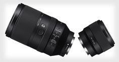 Sony Announces 50mm f/1.8 and 70-300mm Full-Frame FE Lenses