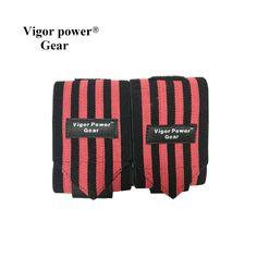 Free shipping  Weight Lifting Wristband Gym Training Wrist Straps Wraps Sport Safety Wrist Support Fitness Bandage