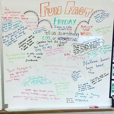 Could use a device to let the kids investigate for their fun fact! Good journal for after our lesson on reliable sources and evaluating websites!