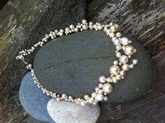 Cream Pearl Multi-strand Necklace £20.00