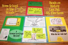 Home School in the Woods U.S. Elections Lap-Pak