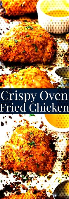 #websitecrispy #ourcrispy #kitchens #solution #recipes #chicken #crowded #thighs #crispy #fried #small... Crispy Oven Fries, Crispy Oven Fried Chicken, Fries In The Oven, Fried Chicken Thigh Recipes, Oven Fried Chicken Thighs, Chicken Recipes, Cravings, Healthy, Breakfast
