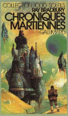 Ray Bradbury's Martian Chronicles by Enki Bilal (1976, Gallimard)