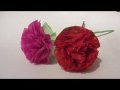 Como hacer hermosas flores de papel, para San Valentín o pare el día de la Madre.    Facebook: https://www.facebook.com/gustamonton  Twiteer: https://twitter.com/#!/gustamonton  Página: http://www.gustamonton.com  Música: http://www.jamendo.com/es/track/80113/03-happy-melodie
