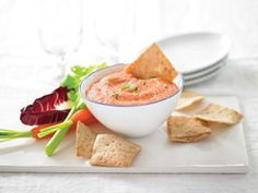Tangy Roasted Red Pepper Dip