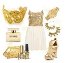 Saturday Styleboard - Golden Goddess