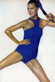 Vintage swim: Birgitta af Klercker by Irving Penn for Vogue US December 1966