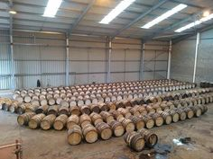 Side by Side awaiting their Magical Glengoyne Journey.