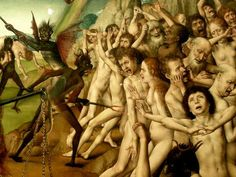 """abystle: """" Hans Memling - The Last Judgement detail The National Museum in Gdańsk (Poland) """" Jan Van Eyck, Hans Memling, Hieronymus Bosch, Heaven And Hell, Portraits, Old Paintings, Renaissance Art, Old Art, Triptych"""