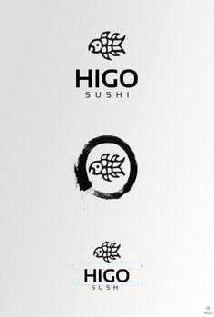 Logo Design Higo Sushi on Branding Served
