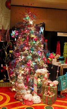 Trendy Christmas Tree Colors