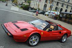 Beautiful classic Ferrari 308 GTS