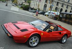 Beautiful classic Ferrari 308 GTS