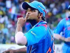 Suresh Raina, action does the talking!