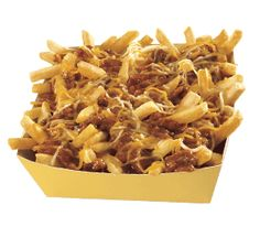 Carl's Jr chili cheese fries.