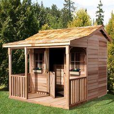Cedar Shed Storage, Tool & Garden Shed Bunkhouse Shed