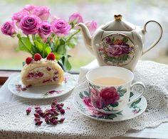 High Tea, Tea Time, Tea Party, Tea Cups, Bakery, Tableware, Fika, Pots, Cottage