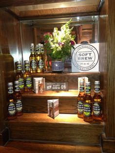 Great display at The Lambert Arms Brewery, Liquor Cabinet, Arms, Display, Storage, Furniture, Home Decor, Floor Space, Purse Storage
