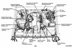 ford f150 engine diagram 1989 1994 ford f150 xlt 5 0 302cid rh pinterest com  93 f150 engine diagram