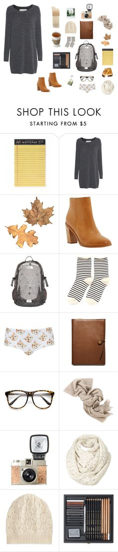 """""""autumn style"""" by ghei on Polyvore featuring mode, Rifle Paper Co, Fine Collection, Dune, The North Face, Hansel from Basel, Topshop, Coach, Brunello Cucinelli et Fat Face"""