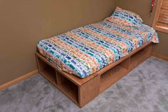 Matt's bed | Do It Yourself Home Projects from Ana White